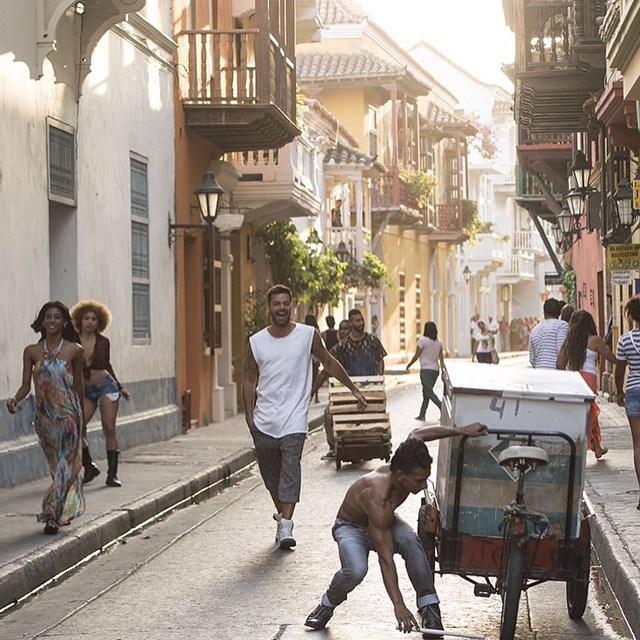 Ricky Martin, Cartagena