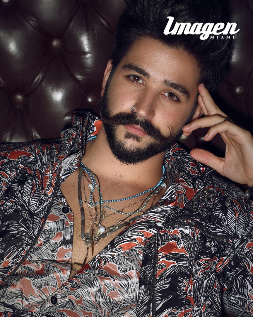 Camilo En Revista Imagen Miami. Fotografía Jesus Marcano.